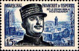 Algérie Poste N** Yv:336 Mi:354 Maréchal Franchet D'Esperey - Unused Stamps