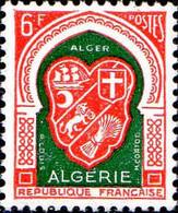 Algérie Poste N** Yv:353 Mi:374 Alger Armoiries - Unused Stamps