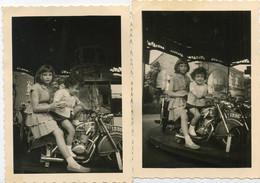 MOTO :  2 Photo Sur Le Kermesse - Reproductions