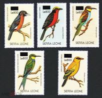 Sierra Leone 2008 Fauna  Birds Overprint Set MNH - Otros