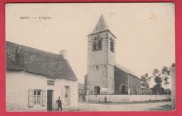 Bury - L'Eglise ... Estaminet ( Voir Verso ) - Péruwelz