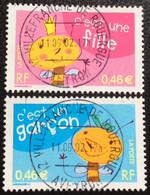 TIMBRES   DE    FRANCE   N° 3463/3464       OBLITÉRÉS  ( LOT: 10332) - Oblitérés