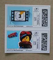 MTEL 04 : La Grande Aventure Lego 2 (autocollants / Autoadhésifs) - Adhésifs (autocollants)