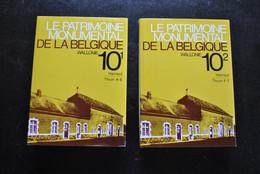PATRIMOINE MONUMENTAL 10 1-2 Hainaut THUIN Régionalisme Carte Beaumont Chimay Binche Nalinnes Momignies Sivry Mariemont - Belgio