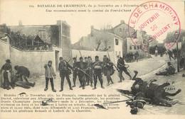 BATAILLE DE CHAMPIGNY - 1870 -  CACHET SOUVENIR DU MONUMENT - Guerres - Autres