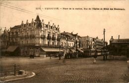België - Wenduyne - Station - HOtel Boulevards - Tram - 1921 - Unclassified