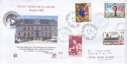 Petit Train De La Mure 2021 02 05 Enveloppe Editée Par Le Club Philathélique  De La Grande Matheysine - 1961-....