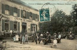 België - Halanzy - La Maison Frontiere - A L E Toile Longwy - Crepin De Coninck - 1910 - Unclassified