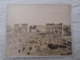 PHOTO Ancienne Sur Carton  28 X 23 - EGYPTE - Photo J.P.SEBAH - Alte (vor 1900)