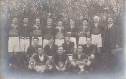Equipe De Rugby - Carte Photo - Ecrite Au Dos Situant L'envoi, Du Côté De Limoges - Rugby