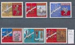 117K904 / Russia 1977 Michel Nr. 4686-4691 MNH (**) Olympic Games - Moscow 1980, USSR Vladimir Suzdal Ivanovo - Neufs