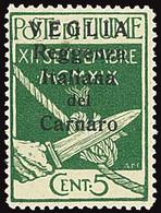 ITALY ITALIA VEGLIA 1920 5 CENT. (Sass. 5) NUOVO LINGUELLATO * OFFERTA! - Arbe & Veglia