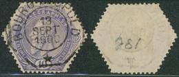 """Télégraphe - TG11 Obl Télégraphique """"Bourg-Léopold"""" (1900). TB - Telegraph"""