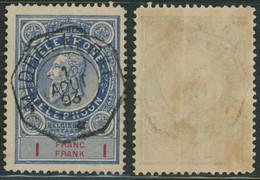 """Téléphone - TE25 Obl Télégraphique """"Middelkerke"""" (1893) - Teléfono"""