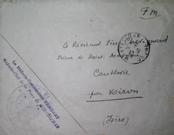 H 10  Facture/document /lettre /medecin Chef De La Place De Montélimar - Guerre De 1939-45