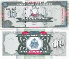 Haiti 2000 - 10 Gourdes - Pick 265a UNC - Haiti