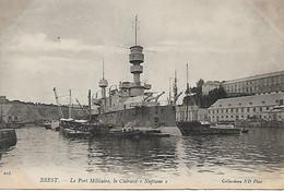 Brest - Le Port Militaire Le Cuirassé Neptune TBE - Brest