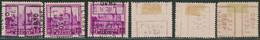 """Antituberculeux (Chateaux) - N°308 Préo """"Lier 1930 Lierre"""" Position A, B & C, Incomplet (n°5974) - Rollini 1930-.."""