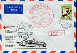Vietnam Special Cover - Red Cross Ship Heldoland - Rode Kruis