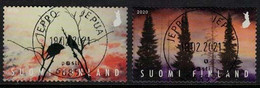 2020 Finland, Posti Art Award, Complete Fine Used Set. - Used Stamps