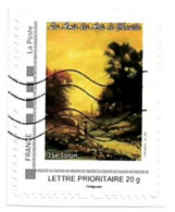 Timbre Personnalisé Sur Fragment Les Amis Des Arts De Chaville 35 Eme Salon Peinture Peintre Paysage - Personalizzati (MonTimbraMoi)