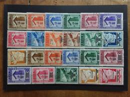 SAN MARINO 1943 - Caduta Del Fascismo E Governo Provvisorio - Incompleti - Timbrati + Spese Postali - Oblitérés