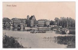 Deutsch Eylau, Dtsch.-Eylau, Alte Postkarte, Ilawa - Pologne