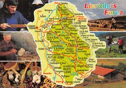63-AUVERGNE LIVRADOIS FOREZ-N°T2720-D/0163 - Andere Gemeenten