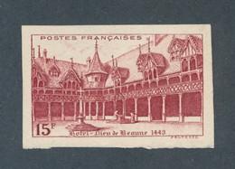 FRANCE - N° 539a) NON DENTELE NEUF* AVEC CHARNIERE - 1942 - COTE : 35€ - Ungezähnt