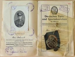 HJ-prisonniers- Ausweis - WW2 Laissez Passez - Laisser Passer - WW2 Document Allemand - Guerre- Diplome Medaille - Historical Documents