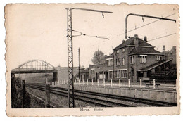 Hove - Statie - Station - Uitgever Fr. Sleegers, Hove - Hove
