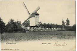Wolverthem Moulin à Vent Nels Série 11 N° 588 Circulée En 1905 - Meise