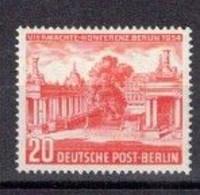 227e * BERLIN 116 * 1 FEINSTE WERTE * VIERMÄCHTEKONFERENZ * MICHEL 10,00 * POSTFRISCH **!! - Neufs