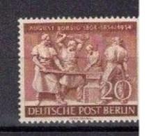 228e * BERLIN 125 * 1 FEINSTE WERTE * BORSIG * MICHEL 9,00 * POSTFRISCH **!! - Neufs