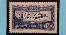 """R1615/624 - 1930 - POSTE AERIENNE - AVION SURVOLANT MARSEILLE - N°6c Perforé """" ELPA30 """"NEUF* - Légère Trace De Charnière - 1927-1959 Mint/hinged"""
