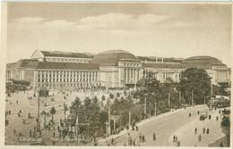 Leipzig; Hauptbahnhof (Strassenbahn) - Nicht Gelaufen. (Dr. Trenkler & Co.) - Leipzig
