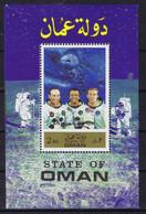 State Of Oman Space 1971 Apollo 14 Crew - Oman
