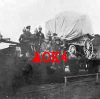 LICHTERVELDE Wervik Torhout Flandern 1916 Bahnhof Station Eisenbahn Artillerie - Lichtervelde