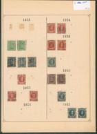 """Albert I / Houyoux / Lion Héraldique - Pages De Collection & Plaquette + Préo """"Lier...Lierre"""" (1921 > 30) / Cote 150e - Rolstempels 1920-29"""
