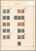 """Albert I / Houyoux / Lion Héraldique - Pages De Collection + Préo """"Luttre"""" (1922 > 30) / Cote Approximative 170e - Rolstempels 1920-29"""