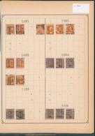 """Albert I / Houyoux / Lion Héraldique - Pages De Collection + Préo """"Maeseyck"""" (1921 > 30) / Cote 100e - Rolstempels 1920-29"""