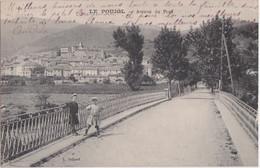Ce - Cpa Le POUJOL - Avenue Du Pont - Other Municipalities