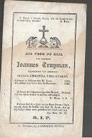 15 08 /   DP   ° STEKENE 1774 + 1848  JOHANNES TRUYMAN - Religion & Esotérisme