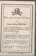 15 08 /   DP  ° ST PIERR CAPELLE 1806 + 1841   ADRIEN LEPERS - Religion & Esotericism