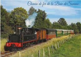 (80) - Chemin De Fer De La Baie De Somme ( 2 Cartes ) - Saint Valery Sur Somme
