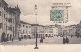 Marche - Ancona - Sanseverino Marche - Piazza Vittorio Emanuele  - F. Piccolo - Viagg - Molto Bella Animata - Other Cities