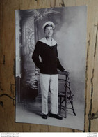 Carte Photo D'un Marin Du DANTON    ................ 3603 - Guerre 1914-18