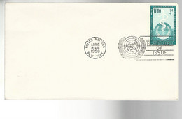 52611 ) United Nations FDC  Stationery Postmark 1956 New York - Gebraucht