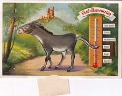 Esels-Barometer - Esel Bewegt Schwanz & Kopf    (P-348-10328) - Cartoline Con Meccanismi