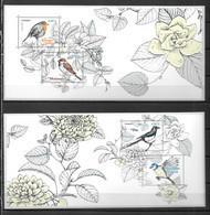 2018 - 143 - Les Oiseaux De Nos Jardins - Blocs Souvenir